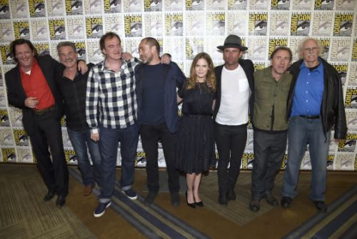 Michael Madsen, Kurt Russell,  Quentin Tarantino, Demian Bichir, Jennifer Jason Leigh, Walton Goggins, Tim Roth, Bruce Dern